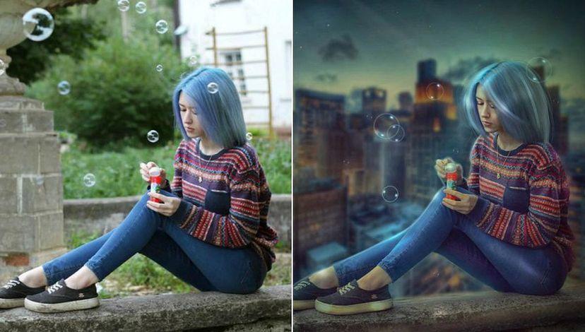 Обработка изображений в фотошопе
