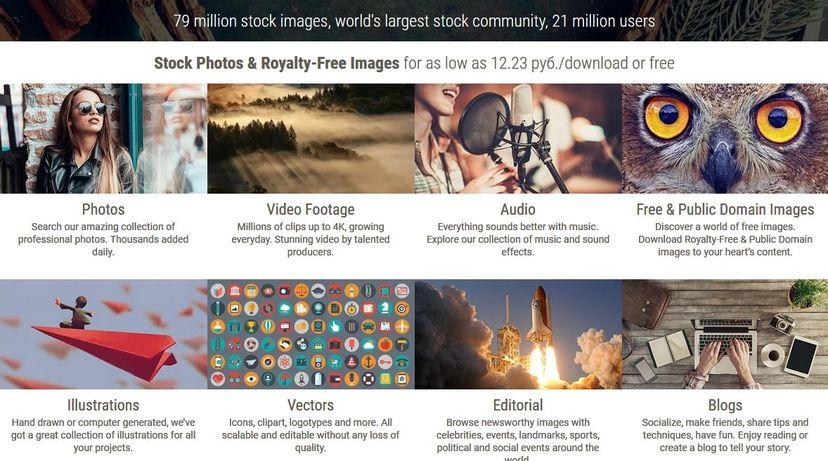 Международный фотосток