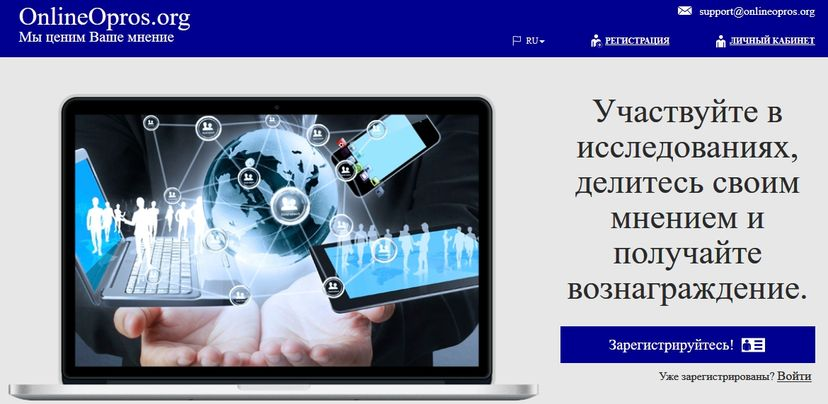 Онлайнопрос. орг