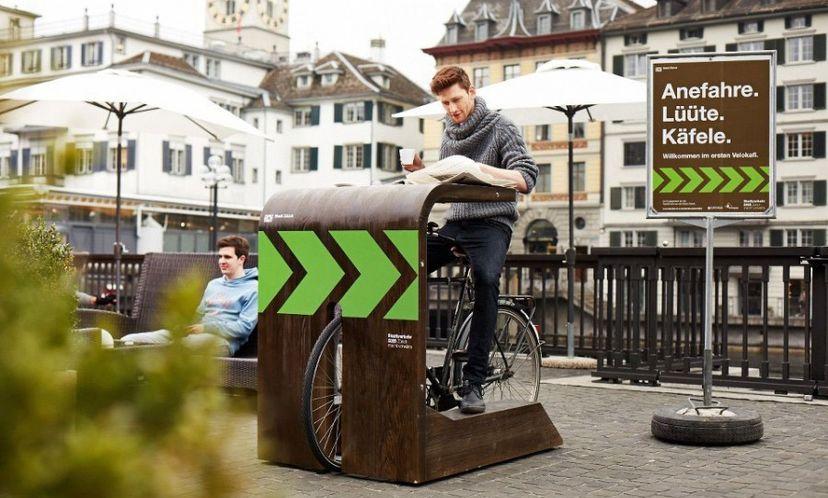 Кафе для велосипедистов