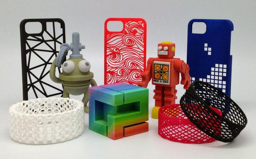 Игрушки, напечатанные на 3Д принтере