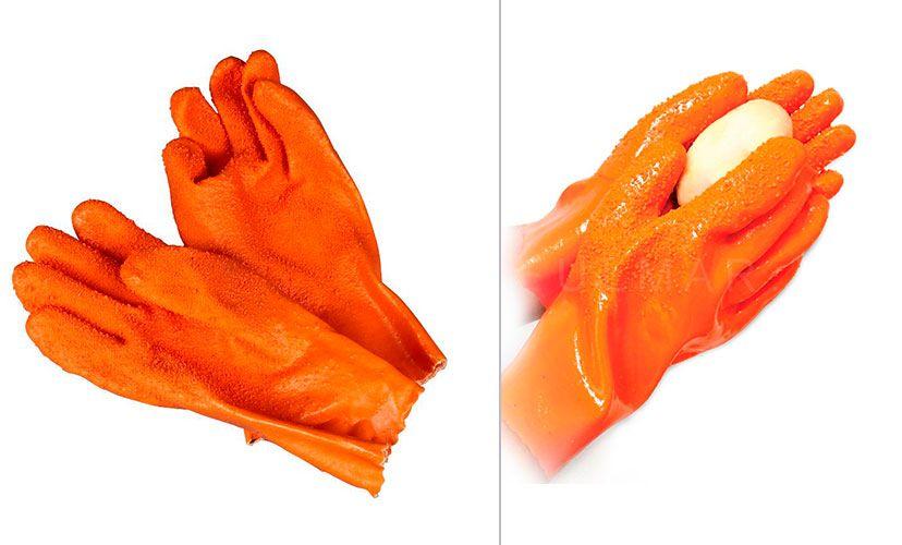 Рукавицы для чистки овощей