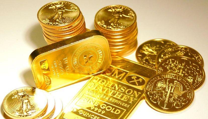 Вложение денег в золотые монеты